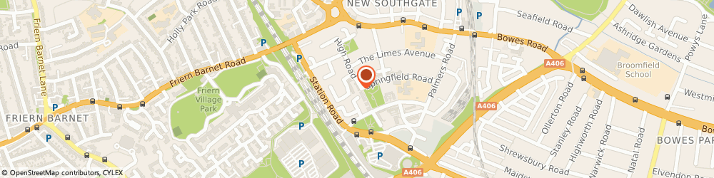 Route/map/directions to Safelink Services Limited, N11 1PP London, 133-135 High Road, New Southgate