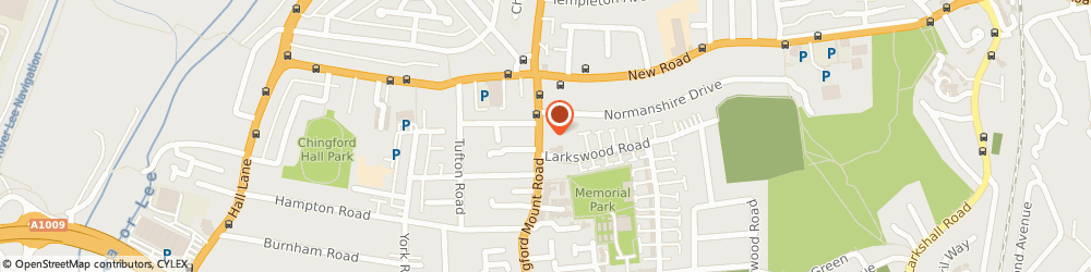 Route/map/directions to Music on Wheels, E4 8JL London, 224 CHINGFORD MT RD