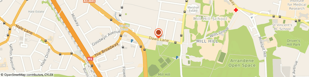 Route/map/directions to In Car Electrics, NW7 4SD London, 57 Daws Lane