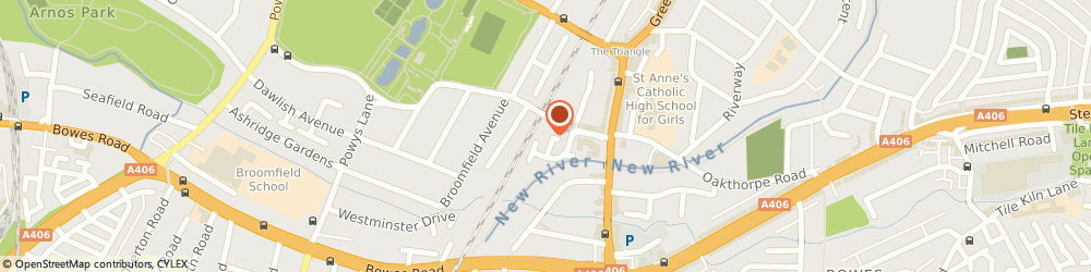 Route/map/directions to Allsaints Plastering Limited, N13 4EZ London, 54 SHAPLAND WAY