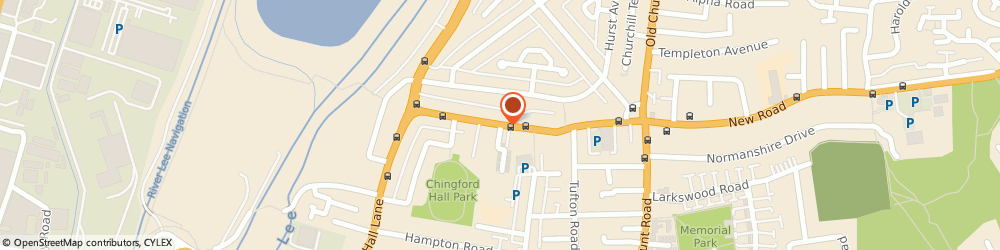 Route/map/directions to Custom Ice, E4 8DJ London, UNIT 6, CHINGFORD INDUSTRIAL CENTRE, HALL LANE