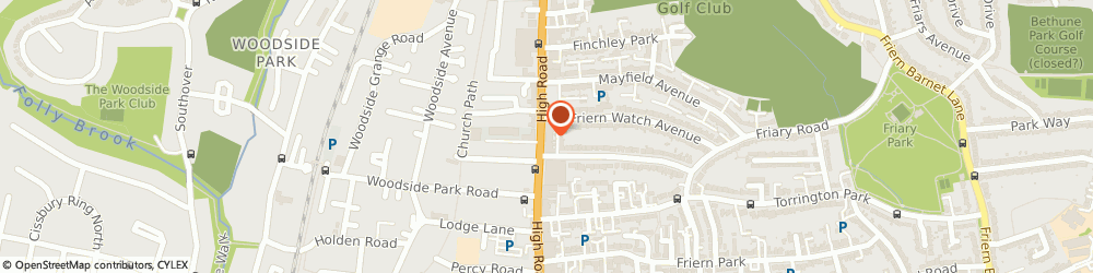 Route/map/directions to UPS Solutions Logistics, N12 9RH London, 876 High Road