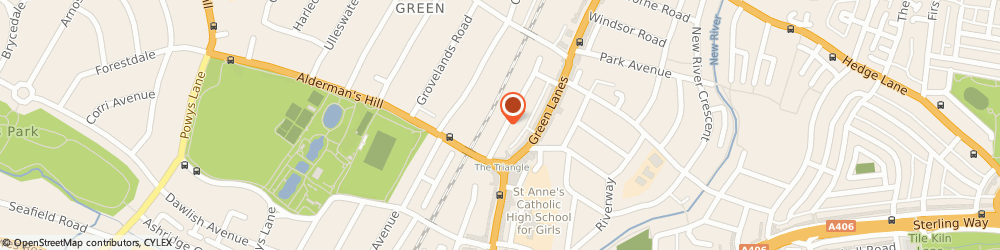Route/map/directions to Eco-insulationhome, N13 4QU London, 25 Devonshire Road