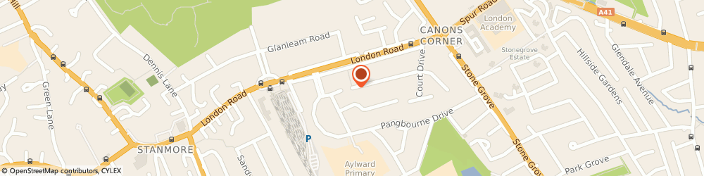 Route/map/directions to Stanmore Locksmiths, HA7 4QN Stanmore, 26-30 Snaresbrook Drive