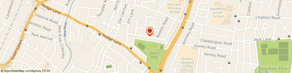 Route/map/directions to The Top Office Cleaning, N13 5NB London, Suite 5;58 New Park Avenue