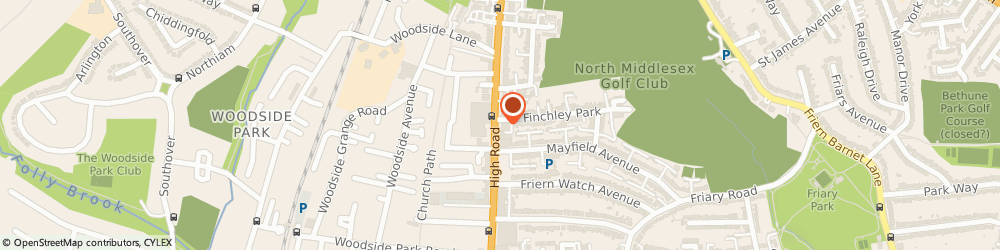 Route/map/directions to Regal Cover, N12 9RW London, RECO HOUSE, 928 HIGH ROAD