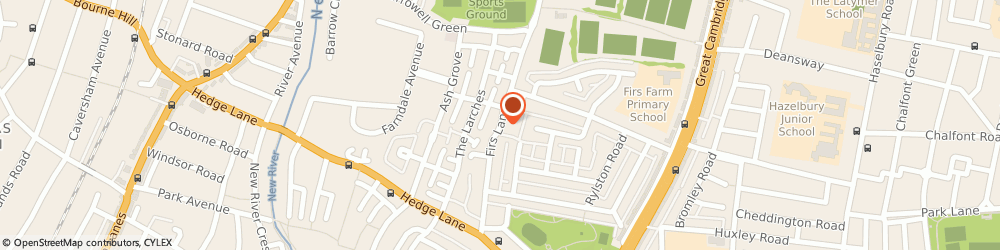 Route/map/directions to Complete Wedding Services, N13 5QQ London, 312 FIRS LANE