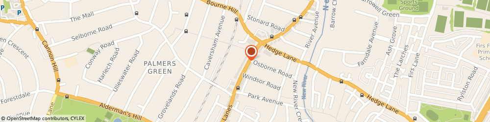 Route/map/directions to CHC Studio Lab, N13 4BS London, 483 Green Lanes