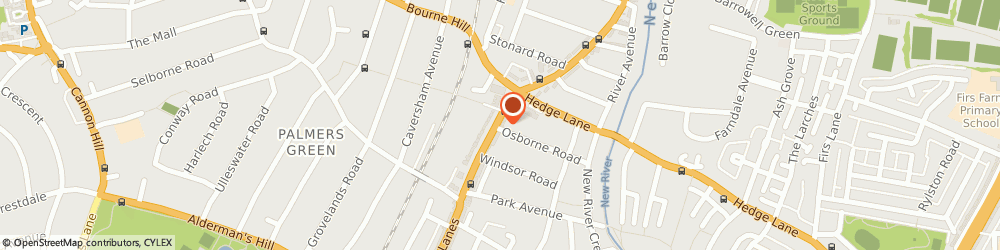 Route/map/directions to Splendid Chauffeurs Car Hire, N13 5XD London, 1St Floor 446A Green Lanes, Palmers Green