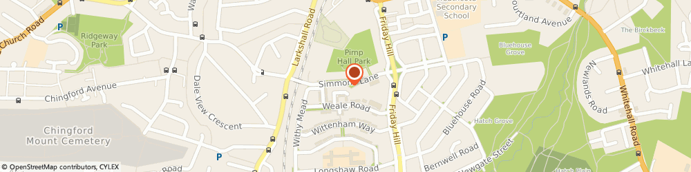 Route/map/directions to Lock Safe Property Care Limited, E4 6JH London, 23 Simmons Lane
