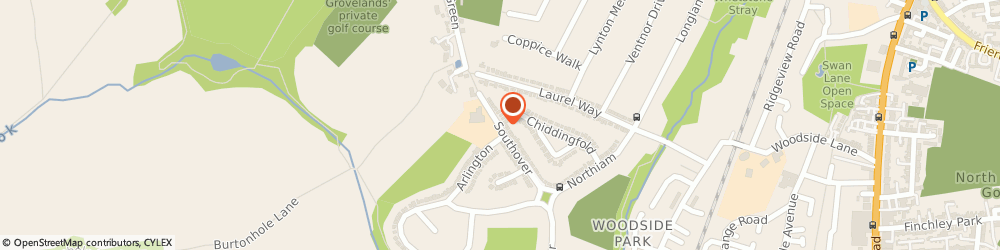 Route/map/directions to Totteridge Locksmiths, N12 7HD London, 104 Southover
