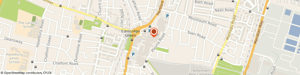 Route/map/directions to risky, N9 0TZ London, 62 Market Square