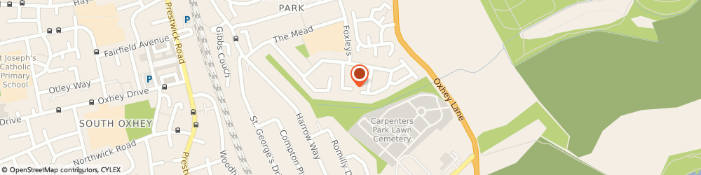 Route/map/directions to ELIZABETH HIGGINS RECRUITMENT SERVICES LTD, WD19 5DF Watford, Maura House, 23 Upper Tail