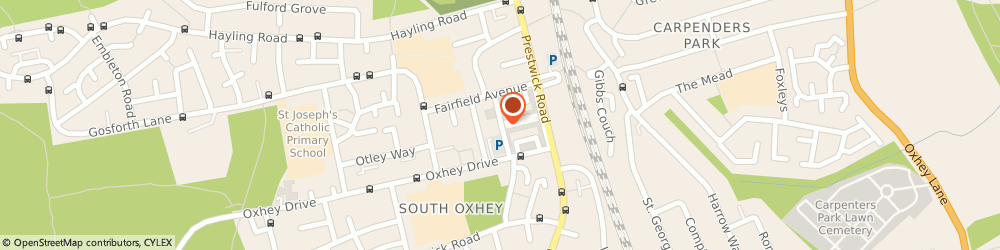 Route/map/directions to Plumbers Oxhey Emergency Plumbing & Heating Oxhey Services, WD18 0LJ Watford, Chester Road