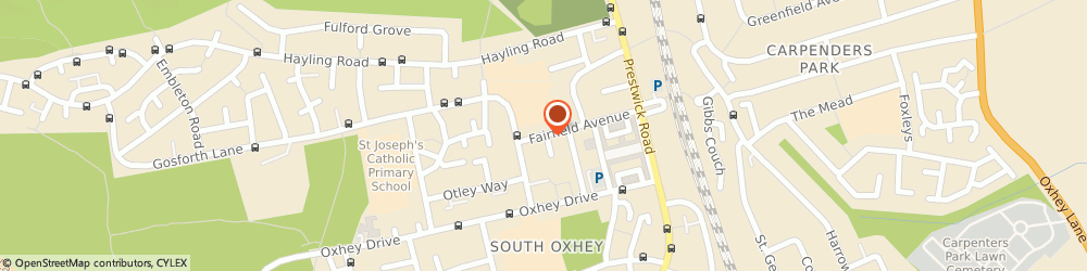 Route/map/directions to Alliance Driving School, WD19 7AR Watford, 58 FAIRFIELD AVENUE