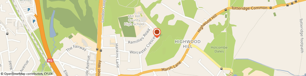 Route/map/directions to 3rd Generation Painting And Decorating, NW7 4LL London, 60, WORCESTER CRESCENT