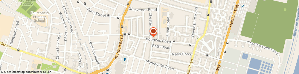 Route/map/directions to Karate Enfield, N9 8JE London, 71 Bounces Road