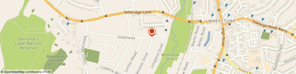 Route/map/directions to Totteridge Chauffeur Services, N20 8EG London, 15 Greenway