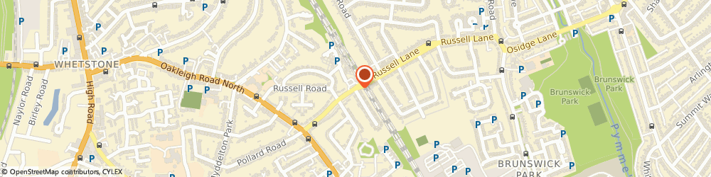 Route/map/directions to Barnet Murco Service Station Whetstone London, N20 0BB London, 45 RUSSELL LANE