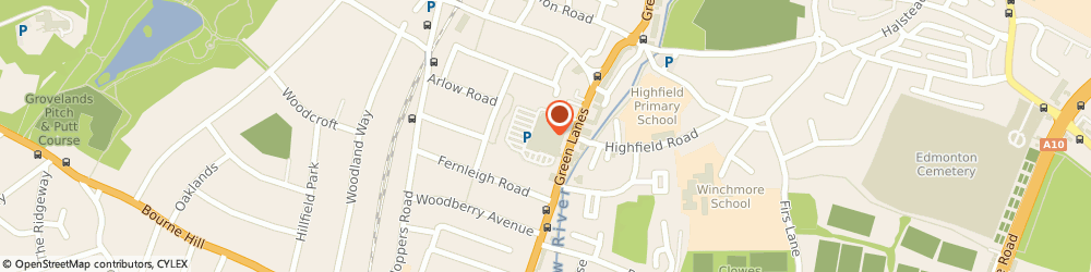 Route/map/directions to Timpson, N21 3RS London, 681 Green Lane