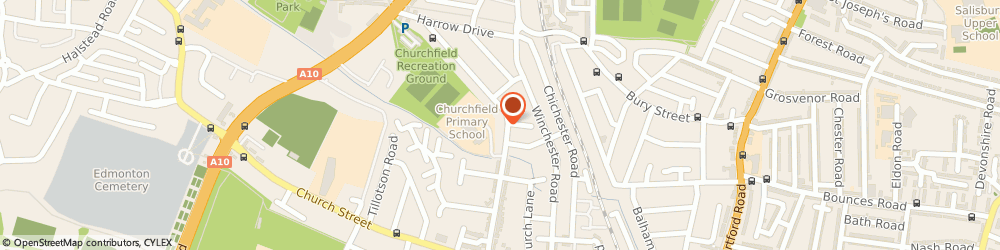 Route/map/directions to The Martiin Ace Black Belt Academy, N9 9PL London, Latymer Road