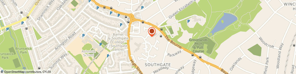 Route/map/directions to A Executive Chauffeur Service, N14 6BZ London, 296 LEIGH HUNT DRIVE