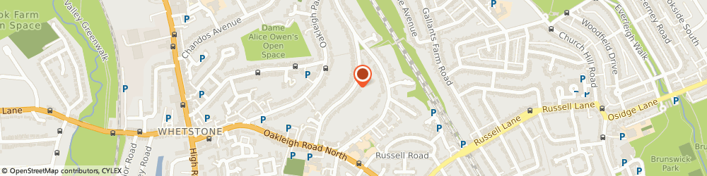 Route/map/directions to Face IT, N20 9JJ London, 56 Oakleigh Ave