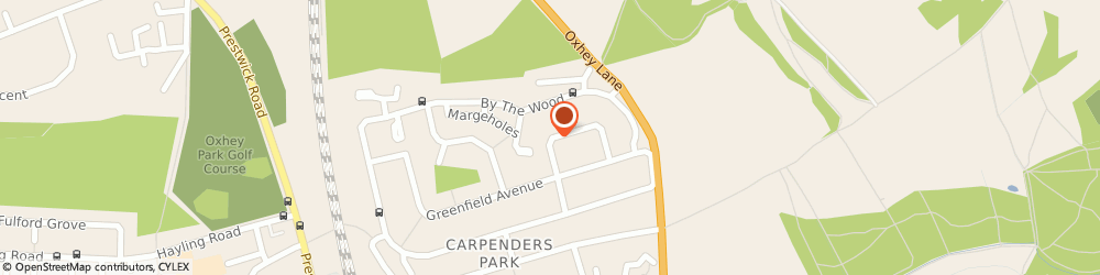 Route/map/directions to G.l Builders, WD19 5DP Watford, 55 The Courtway