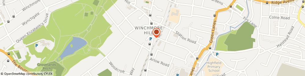 Route/map/directions to Local Locksmith Winchmore Hill, N21 3NP London, 250 Hoppers Road
