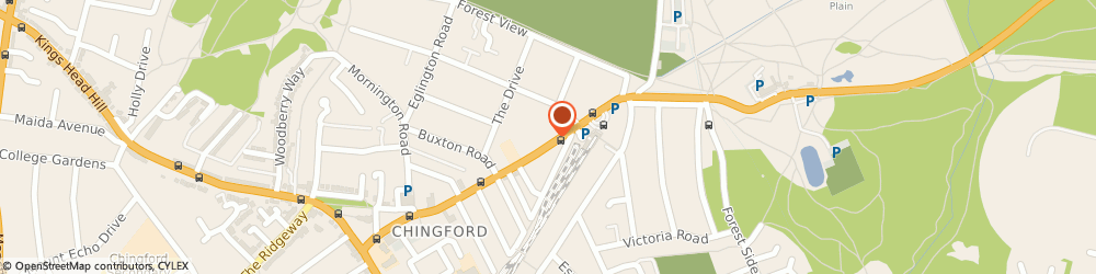 Route/map/directions to Unique Locksmith, E4 6AP London, 104 Station Road