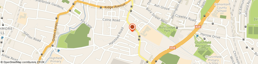 Route/map/directions to Susan Salkeld & Company Limited, N21 3ED London, 9 ROWANTREE ROAD