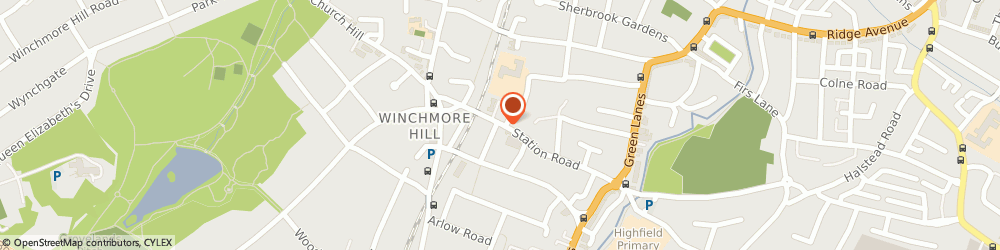 Route/map/directions to Home Care Preferred, N21 3NB London, 49 Station Road, Winchmore Hill