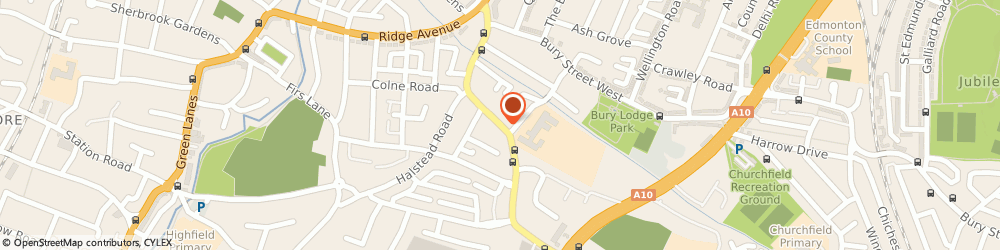Route/map/directions to Rapid Locksmiths, N9 9HS London, 392, CHURCH STREET