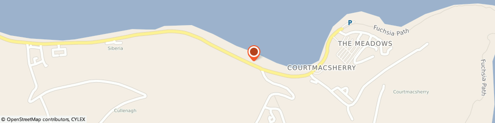 Route/map/directions to Courtmacsherry Ceramics,  Cork, RAILWAY VIEW COURTMACSHERRY