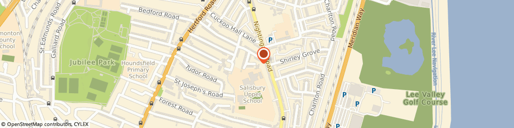 Route/map/directions to Eastbrook House, N9 8DA London, 16 Eastbrook Ave, Eastbrook House