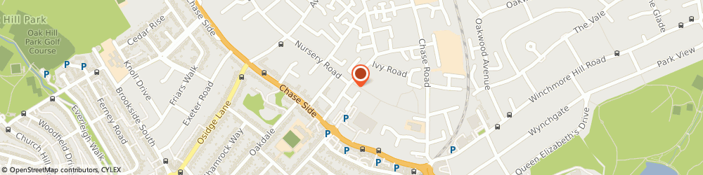 Route/map/directions to Road Runner Traffic Counter Accessories Ltd., N14 5PT London, 50 CHELMSFORD RD