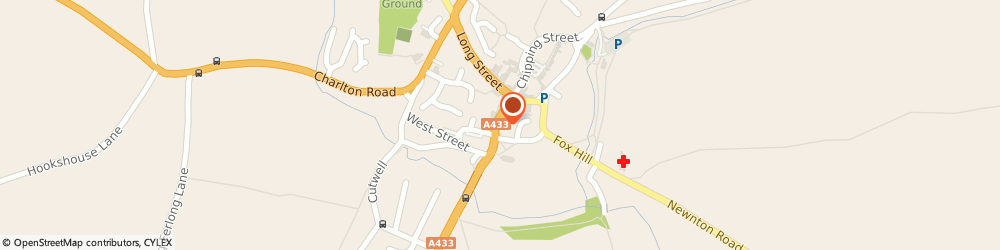 Route/map/directions to The Blue Zucchini Brasserie, GL8 8JG Tetbury, 7-9 Church St