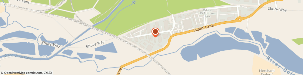 Route/map/directions to Datalink Transportation Ltd, WD18 9TD Watford, 1 Olds Approach  Tolpits Lane