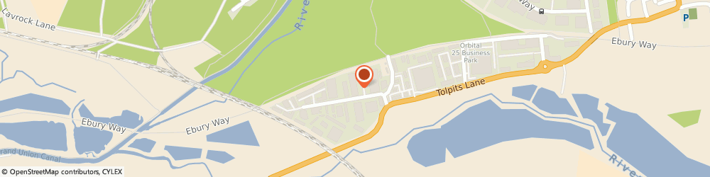 Route/map/directions to Travis Perkins, WD18 9TL Watford, Olds Approach