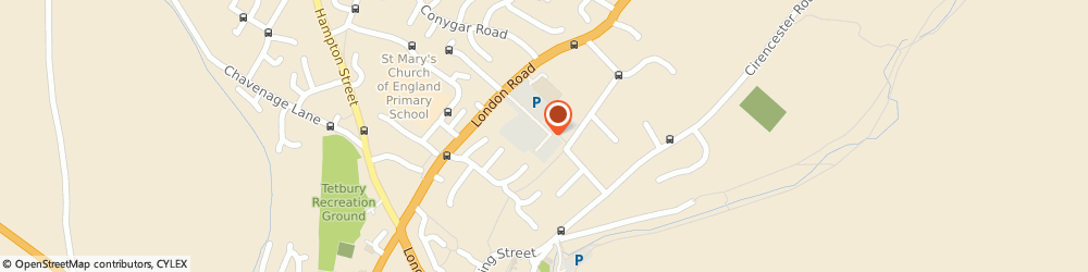 Route/map/directions to The Pizza Planet Ltd Tetbury, GL8 8HZ Tetbury, UNIT 2, PRIORY INDUSTRIAL ESTATE