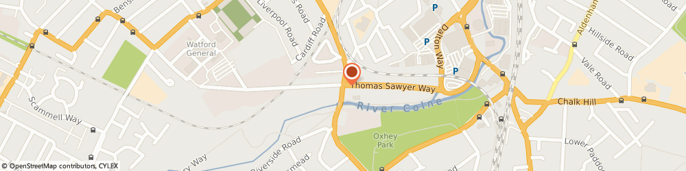 Route/map/directions to Toolstation Watford, WD18 0EZ Watford, Trade City, Thomas Sawyer Way