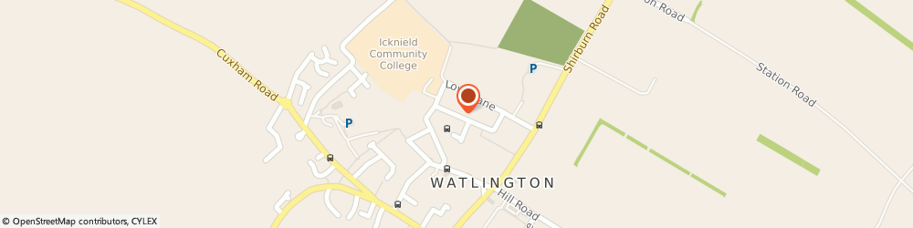 Route/map/directions to Cdgm Construction & Landscaping, OX49 5QX Watlington, 11 Pauls Way