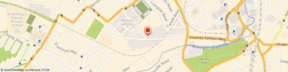 Route/map/directions to Central Cash & Carry, WD18 0DG Watford, UNIT 3, CARDIFF RD INDUSTRIAL ESTATE