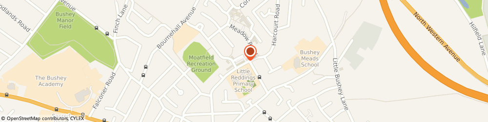 Route/map/directions to Hemley Funeral Directors, WD23 3PP Watford, 35 Harcourt Road
