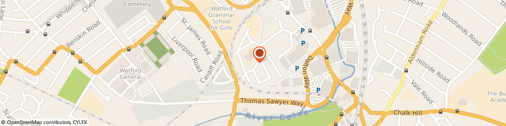 Route/map/directions to JHF Window Cleaning, WD18 0BA Watford, 2 Lammas Rd