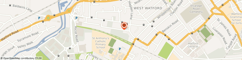 Route/map/directions to Alfa Ltd, WD18 7PZ Watford, 29-43, Sydney Rd