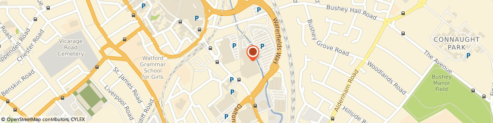 Route/map/directions to Vision Express Opticians at Tesco - Watford, WD17 2BD Watford, Tesco Extra