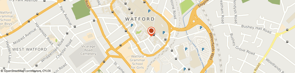 Route/map/directions to fleetconnexions, WD18 0BW Watford, 10 King St, Royalty House