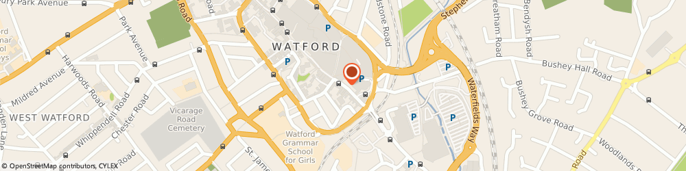 Route/map/directions to Maplin Electronics, WD17 2EN Watford, 138, High Street