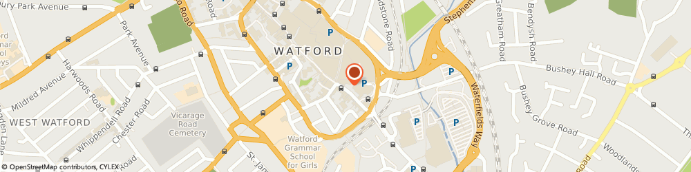 Route/map/directions to Bottrills Solicitors, WD17 1NA Watford, 131 High Street